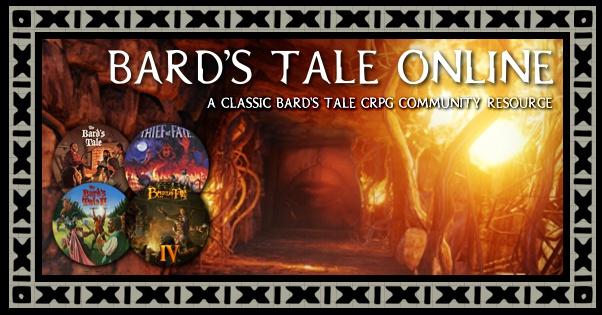 OS Emulators -- Bard's Tale Online